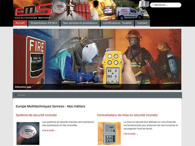 Site web responsive réalisé avec le CMS Joomla