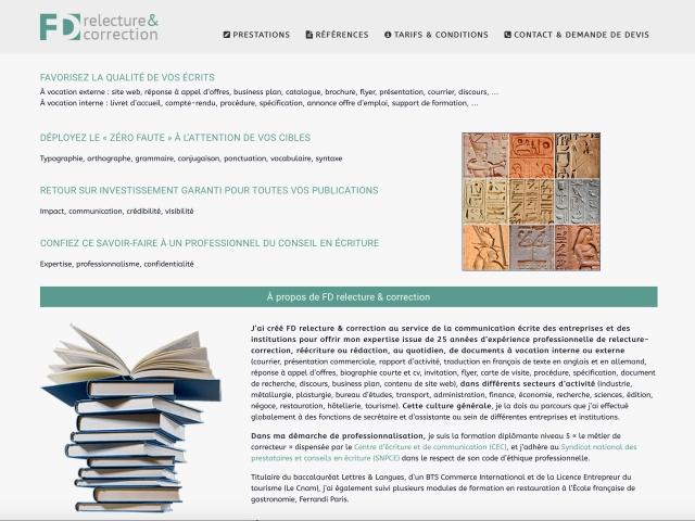 Site web réalisé avec le CMS Joomla pour ordinateurs et smartphones