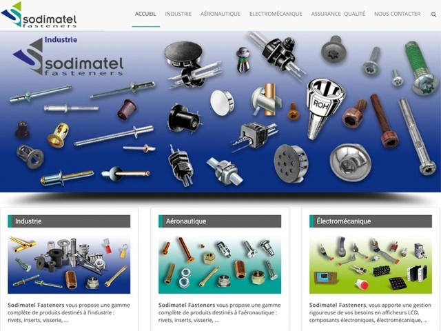 Site web responsive design réalisé avec le CMS Joomla