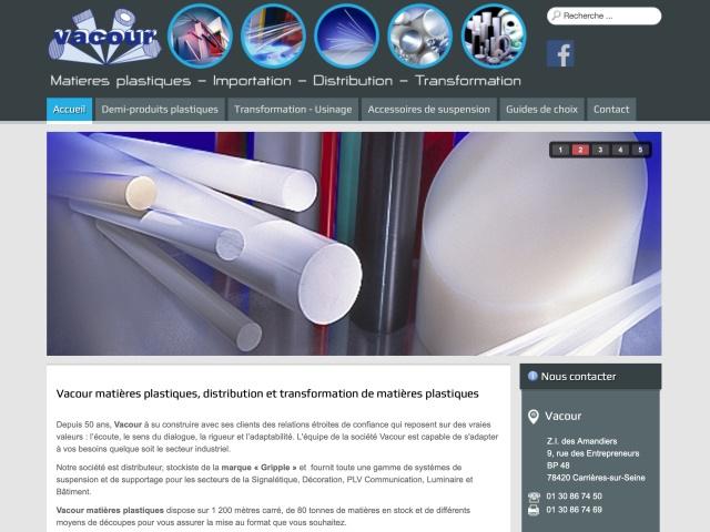 Site web réalisé avec le CMS Joomla